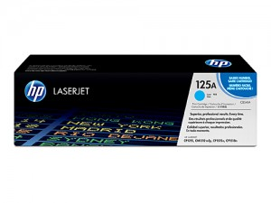Genuine HP CB541A No.125A Cyan Toner Cartridge - 1,400 pages