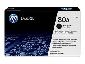 Genuine HP CF280A No.80A Black Toner - 2,700 pages