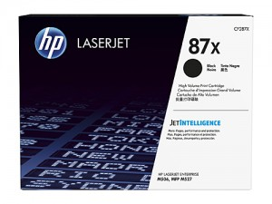 Genuine HP CF287X No.87X Toner Cartridge - 18,000 pages