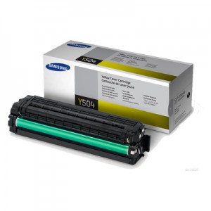 Genuine Samsung CLTY504S Yellow Toner Cartridge to suit CLP415 / CLX4170 / CLX4195 - 1,800 pages