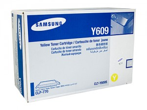 Genuine Samsung CLTY609N Yellow Toner Cartridge to suit CLP-770ND - 7,000 pages