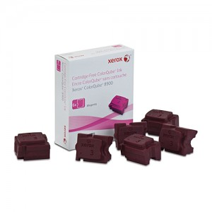 Genuine FX Phaser 108R01031 Magenta Ink sticks - 6 pack - 16,900 pages