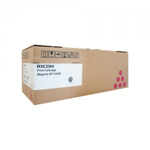 Genuine Ricoh / Lanier SPC222SF Magenta Toner Cartridge - 2,000 pages