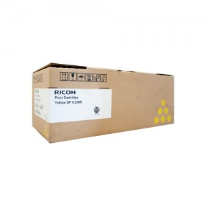 Genuine Ricoh / Lanier SPC222SF Yellow Toner Cartridge - 2,000 pages