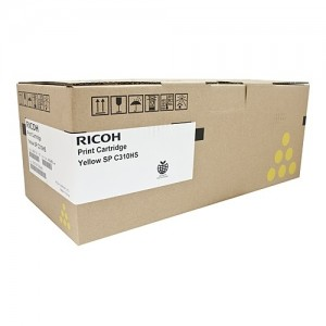 Genuine Ricoh SPC312 Yellow Toner Cartridge - 6,000 pages