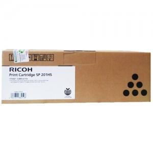 Genuine Ricoh SPC201 Blk Toner Cartridge - 2,600 pages