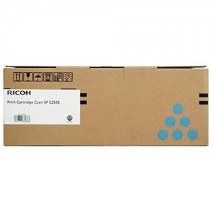 Genuine Ricoh SPC250 Cyan Toner Cartridge - 1,600 pages