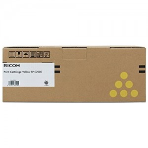 Genuine Ricoh SPC250 YellowToner Cartridge - 1,600 pages