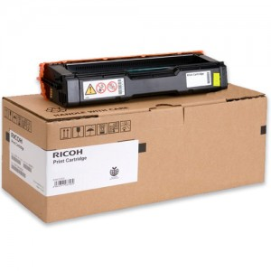 Genuine Ricoh SPC252 Yellow Toner Cartridge - 6,000 pages