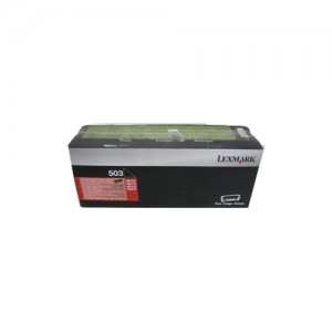 Genuine Lexmark 503 Black Toner - 1,500 pages