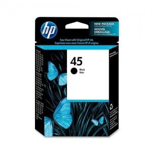 Genuine HP #45 Black Ink Cartridge - 42ml - 883 pages