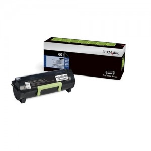 Genuine Lexmark 603 Black Toner - 2,500 pages