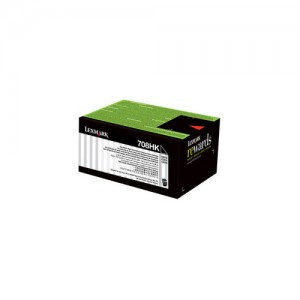 Genuine Lexmark 708HK HY Black Toner - 4,000 pages