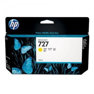 Genuine HP #727 130ml Yellow Ink Cartridge Ink Cartridge -