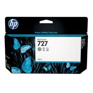 Genuine HP #727 130ml Grey Ink Cartridge -