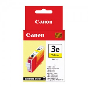 Genuine Canon BCI-3eY Yellow Ink tank - 280 pages