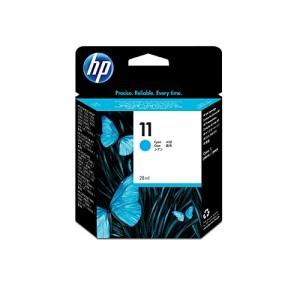 Genuine HP #11 Cyan Ink Cartridge (29ml) - 1,830 pages