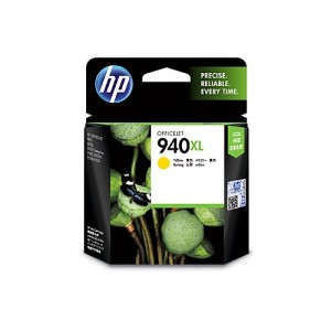 Genuine HP #940XL Yellow High Yield Ink Cartridge - 1,400 pages