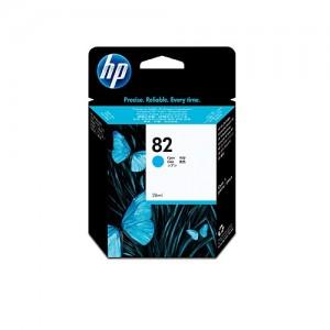 Genuine HP #82 Cyan Ink Cartridge - 3,200 pages