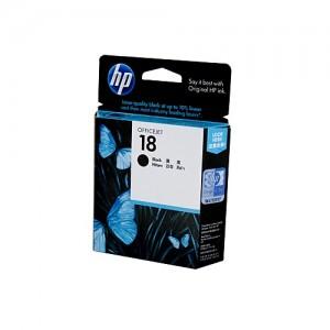 Genuine HP #18 Black Ink Cartridge - 850 pages