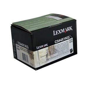 Genuine Lexmark C544 / X544 Black XHY Prebate Toner Cartridge - 6,000 pages