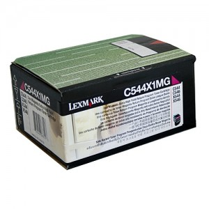 Genuine Lexmark C544 / X544 Magenta XHY Prebate Toner Cartridge - 4,000 pages