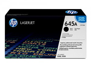 Genuine HP C9730A No.645A Black Toner Cartridge - 13,000 pages