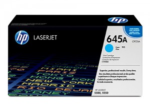 Genuine HP C9731A No.645A Cyan Toner Cartridge - 12,000 pages