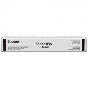 Genuine Canon CART034 Black Toner Cartridge - 12,000 pages