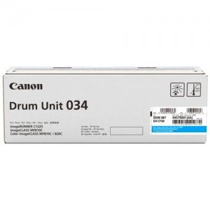 Genuine Canon CART034 Cyan Drum Unit - 34,000 pages