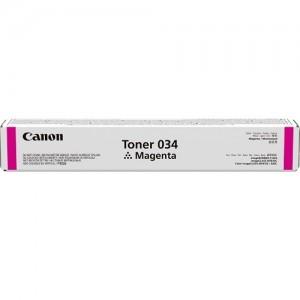Genuine Canon CART034 Magenta Toner Cartridge - 7,300 pages