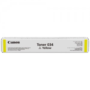 Genuine Canon CART034 Yellow Toner Cartridge - 7,300 pages
