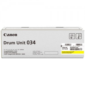 Genuine Canon CART034 Yellow Drum Unit - 34,000 pages