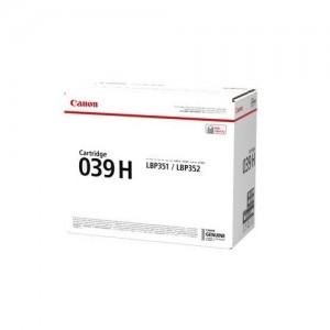 Genuine Canon CART039II Blk HY Toner