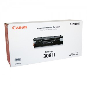 Genuine Canon CART-308II Toner Cartridge - 6,000 pages