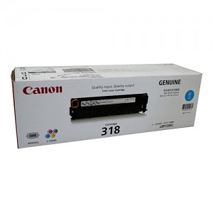 Genuine Canon CART318 Cyan Toner Cartridge - 2,400 pages