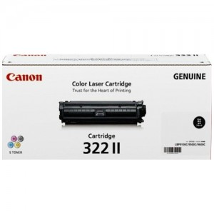 Genuine Canon CART322 Black High Yield Toner Cartridge - 13,000 pages