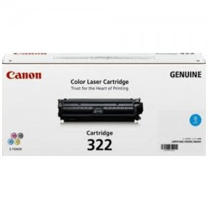 Genuine Canon CART322 Cyan Toner Cartridge - 7,500 pages