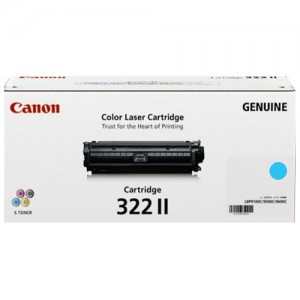 Genuine Canon CART322 Cyan High Yield Toner Cartridge - 15,000 pages