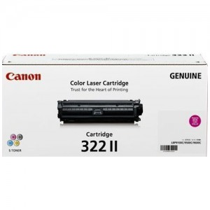 Genuine Canon CART322 Magenta High Yield Toner Cartridge - 15,000 pages