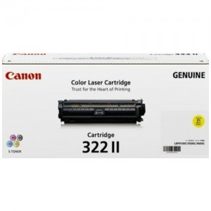 Genuine Canon CART322 Yellow High Yield Toner Cartridge - 15,000 pages