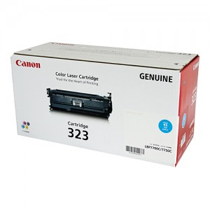 Genuine Canon CART323 Cyan Toner Cartridge - 8,500 pages