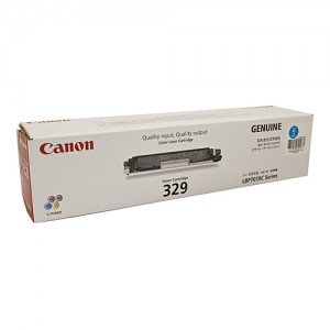 Genuine Canon CART329 Cyan Toner Cartridge - 1,000 pages