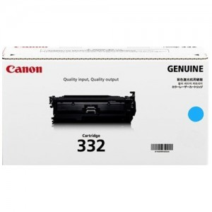Genuine Canon CART332 Cyan Toner Cartridge - 6,400 pages