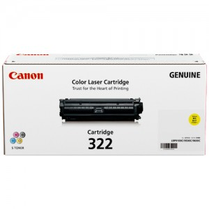 Genuine Canon CART332 Yellow Toner Cartridge - 6,400 pages