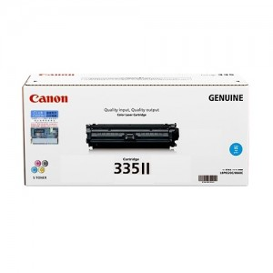 Genuine Canon CART335 Cyan High Yield Toner Cartridge - 16,500 pages
