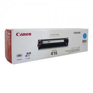 Genuine Canon CART416 Cyan Toner Cartridge - 1,500 pages