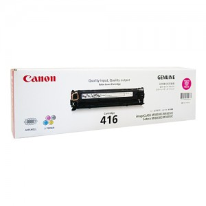 Genuine Canon CART416 Magenta Toner Cartridge - 1,500 pages