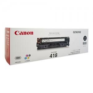 Genuine Canon CART418 Black Toner Cartridge - 3,400 pages