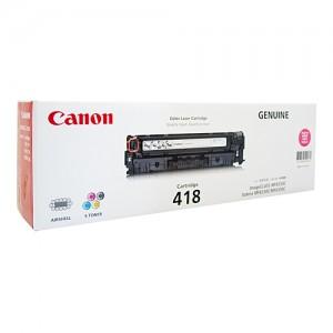 Genuine Canon CART418 Magenta Toner Cartridge - 2,900 pages
